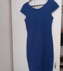 Tipski plav fustan M-L