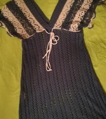 pleteno teget-belo fustance