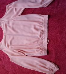 жоржет кошула со голи рамена