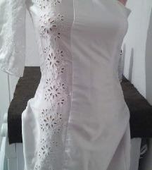 Nov bel fustan xxs/xs/s✔Razmeni