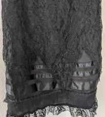 Црн фустан мини