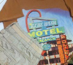 Pantaloni Cache Cache+Nova bluza brend KAMA