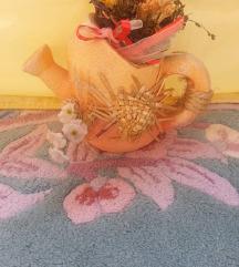 dekorativno keramicko so cveke