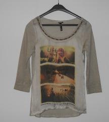 ***Nova krem bluza vel S/M***-250 den