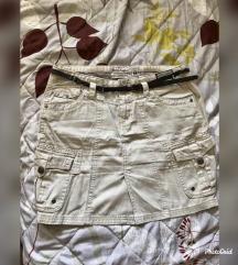 Nova krem suknja