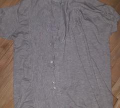 Машка маица на кратки ракави со преклоп L-XL