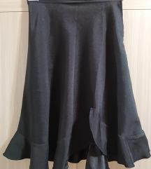 Crna suknja so karner vel S - 100 den