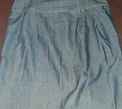 Texas suknja so visok struk