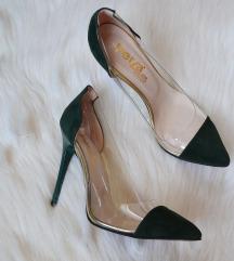Plexi чевли - маслинесто зелени