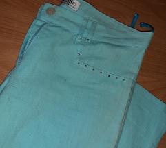 Svetlo plavi leneni pantaloni