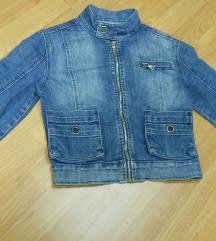 Kratka teksas jakna S