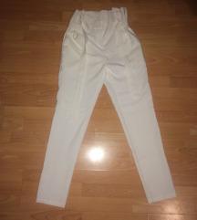 Чисто нови бели панталони M/L