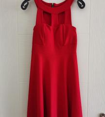 Црвен фустан ( носен само еднаш!)