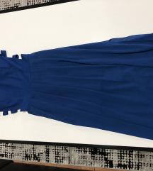 Едноставен свечен фустан со шлиц