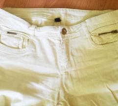 Женски фармерки pimkie L-пастелно жолто