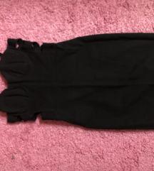 Црн свечен фустан