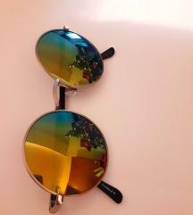 очила за сонце со кружна рамка