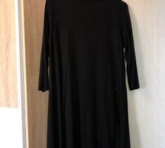 casual crno fustance