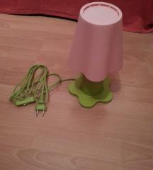 Ikea nova cvet lamba rozevo zelena