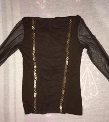 Блуза со долги ракави