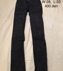 Crni pantaloni POPUST 300 den