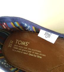 TOMS original novi mokasini br. 45