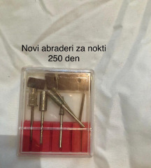 Abraderi za struganje na nokti Novi