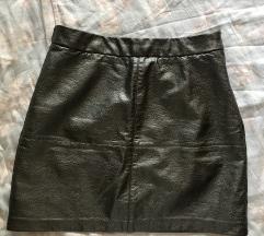 Кратка сребрена сукњичка
