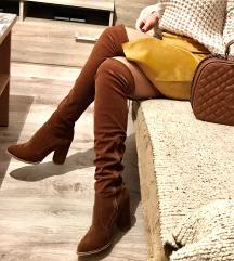 Кафеави чизми