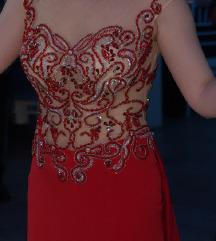 Свечен елегантен фустан