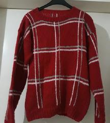 Zimska bluza pletena