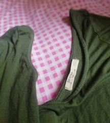 Bershka bluza so tricetvrt rakav