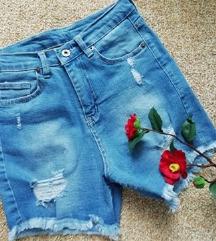 Pantoloni farmerki kratki