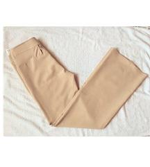 НОВИ кремасти панталони S/M
