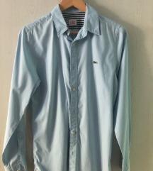Lacoste pale blue shirt