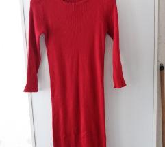 Nov moderen crven fustan L -XL