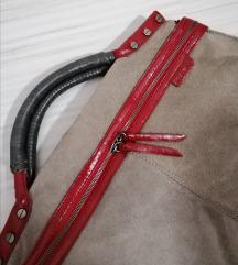 Replay обрната кожа чанта