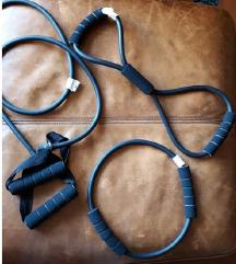Еластични јажиња за вежбање