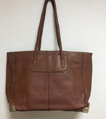 Голема кафеава чанта