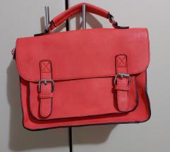 Корална поштарска чанта
