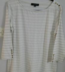 *250*Nova bela so krem bluza ,maica VESTINO 42