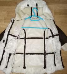 Brendirano krzneneno jaknice do 3god kako novo