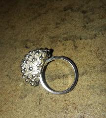 prsten srebren 925br 8