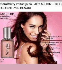 NYMPHE EDP копија на LADY MILION - PACO RABANNE