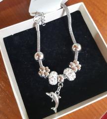Lucky charm bracelet-привезок делфинче