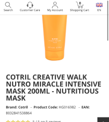 Cotril shampon i maska
