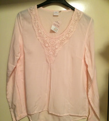 NEW - Бебешко розева блуза Ѕ/М