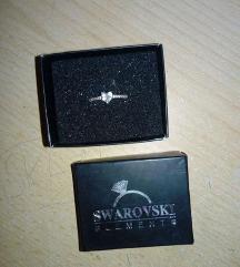 SWAROVSKI прстен со срце
