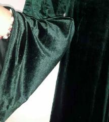 Plisani pantaloni Zara