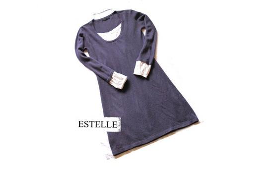 Брендиран есен-зима фустан M-L-XL